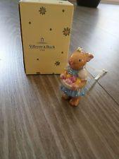 Villeroy & Boch - jarní výzdobu - V & B Zajíček s barevnými velikonoční vajíčka - NEW & Sealed