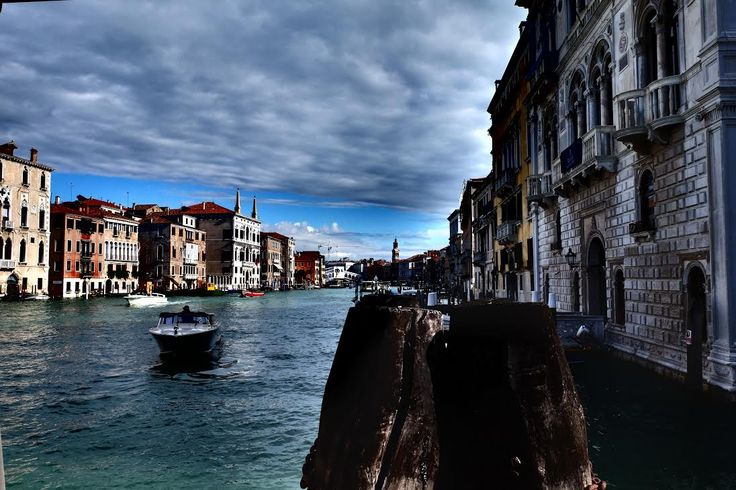 View of the #grancanal of #venice