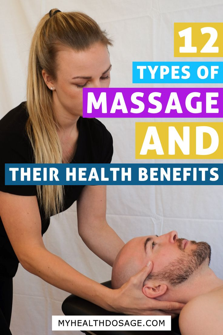 Massage Therapy: Styles of Massage and Their Health ...