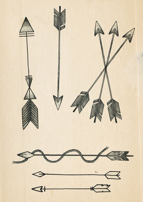 A few Arrow tattoo designs...I love the three arrows crossed. It would make a great tattoo for me! 3 sisters going seperate ways but always connected