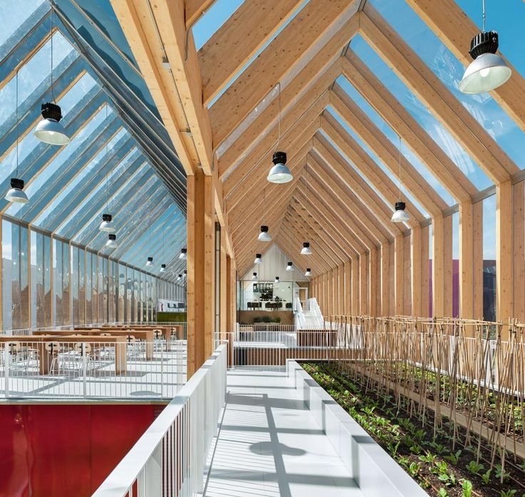 Inside the Spanish Pavilion at the Milan Expo 2015