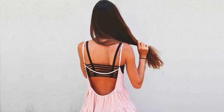 Tipos de escote en la espalda que a tu guardarropa no le pueden faltar