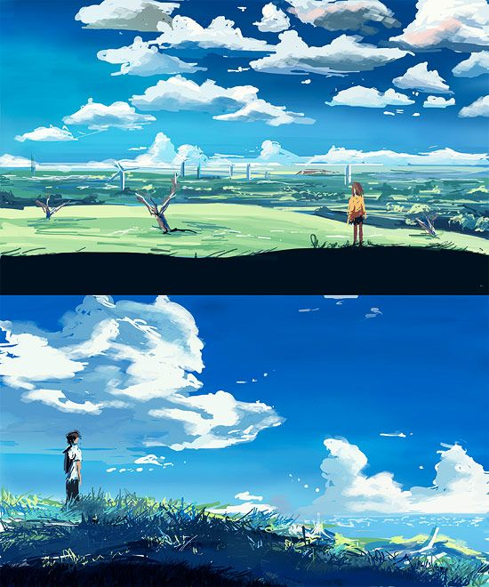 /Makoto Shinkai/#782598 - Zerochan | 5 Centimeters Per Second (2007)
