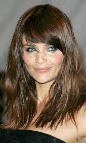 Helena Christensen Perfect Hair Over 40 Long Hair Into