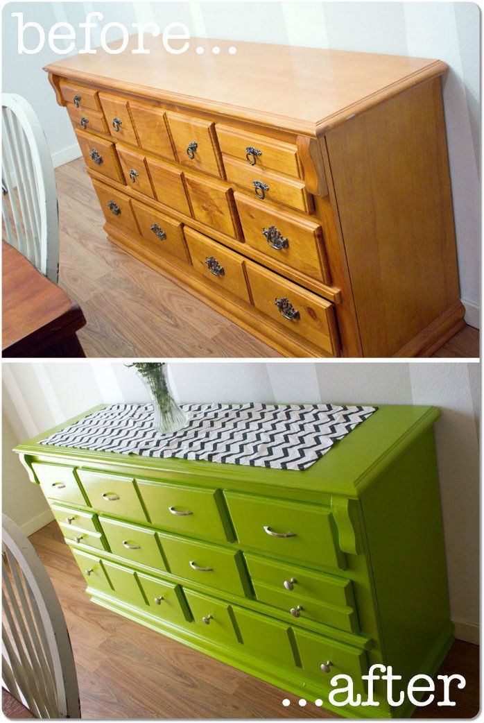 Before and After Uplift on Old Storage Cabinet http://www.storageinabudhabi.com