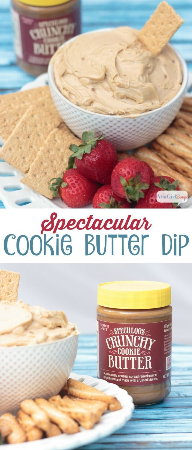Spectacular Speculoos Cookie Butter Dip