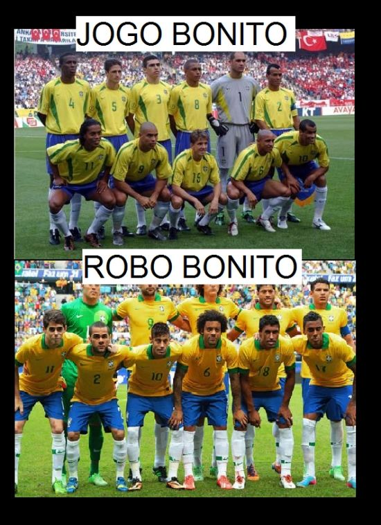 Fallece el jogo bonito de Brasil