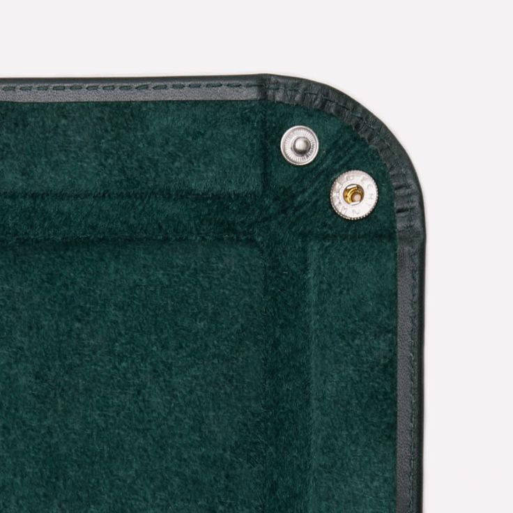 Ettinger London - Luxury Leather Goods - Lifestyle Leather Tray in Green