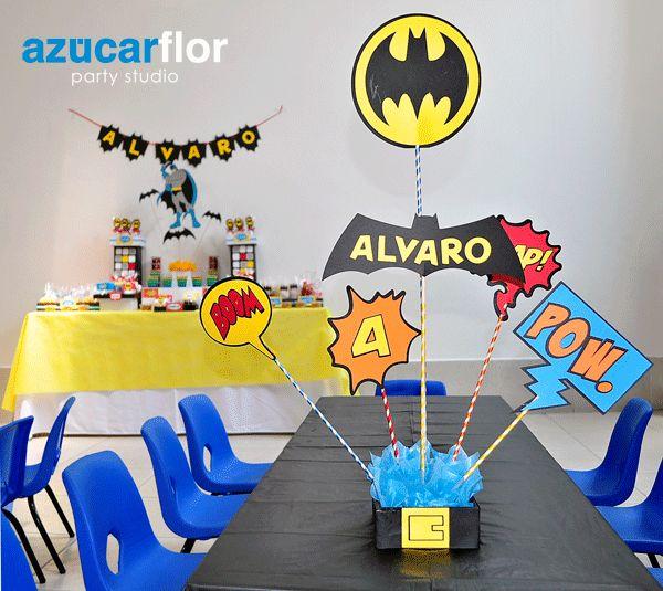 Centro de Mesa do Batman