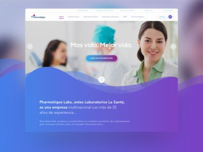 Vibrant UI for a pharmaceutical company 🔮 by Imaginamos Design - Dribbble