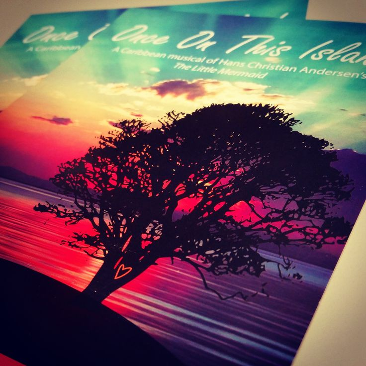 Digital full color advertising postcard we did for the Napa Valley College Performing Arts Center.  #fullcolorprinting #cmyk #postcard #sunset #rackcards #digitalprinting #performingarts #napa