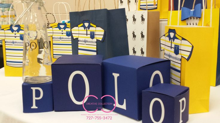 Polo theme baby shower more polo ralph lauren baby shower polo