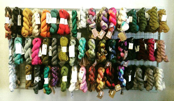 My yarn display :)