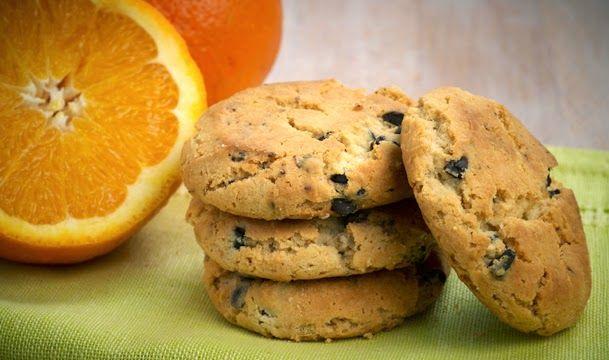 Ζαχαροπλαστική. Γλυκές... απολαύσεις διαφόρων Chef απ'όλο τον κόσμο: Cookies πορτοκαλιού με κομμάτια σοκολάτας