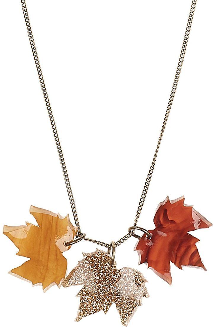Fallen Leaves Triple Pendant, £30: http://www.tattydevine.com/shop/collections/contemporary/fallen-leaves-triple-pendant.html