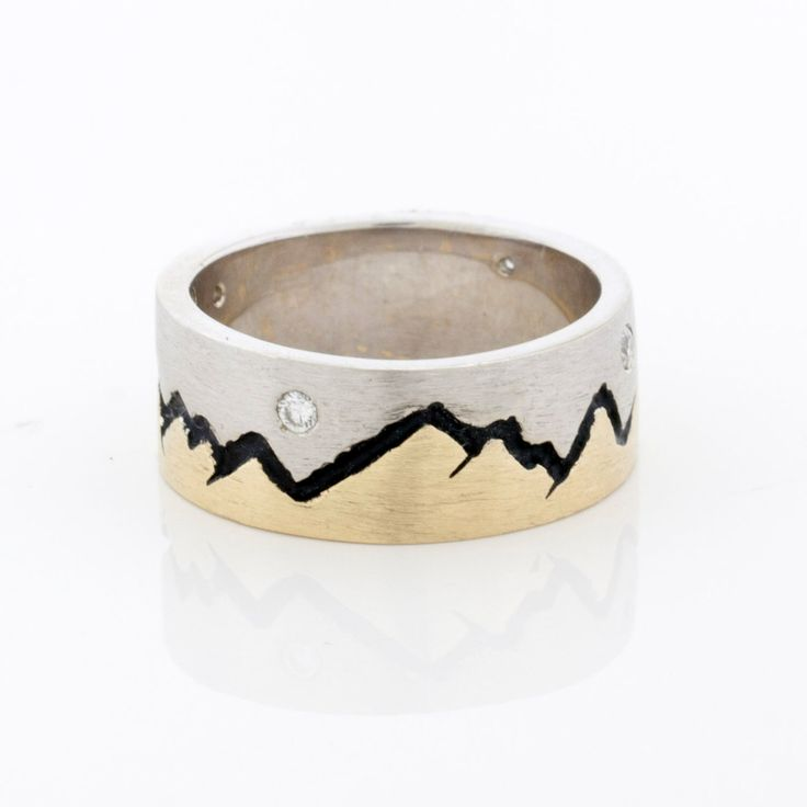 43 best Mountain Rings images on Pinterest | Mountain rings, Wedding ...