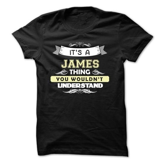 If your name is JAMES then this is just for you