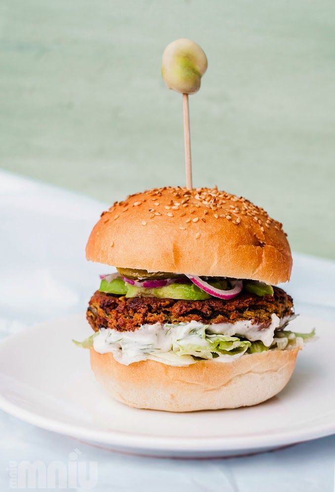 Bóbger - burger z bobu