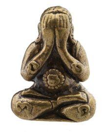 Phra Pidta Bouddha-amulette Thaï -Talisman - Protection Richesse Chance Santé