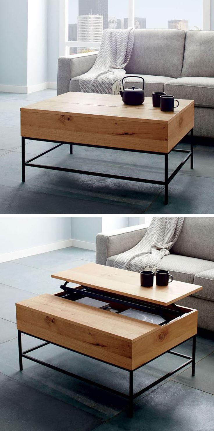 Гостиная идеи на бюджет // вкладывать деньги в Многоцелевой Мебель - включают в себя мебель, которая делает двойную обязанность, как и журнальный столик, который также кусок хранения.