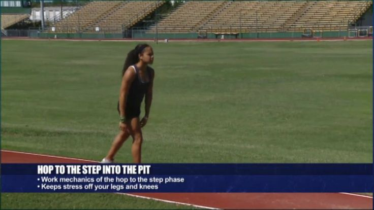 Triple Jump Step Drills - Stacey Smith - Baylor Univ.