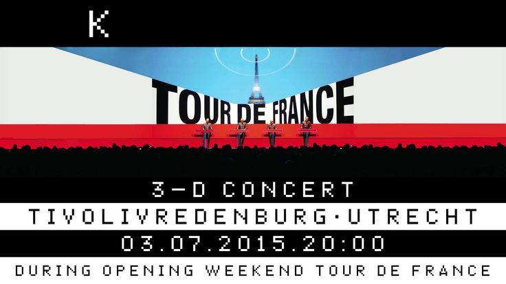 Kraftwerk 3-D concert July 3 2015 at TivoliVredenburg