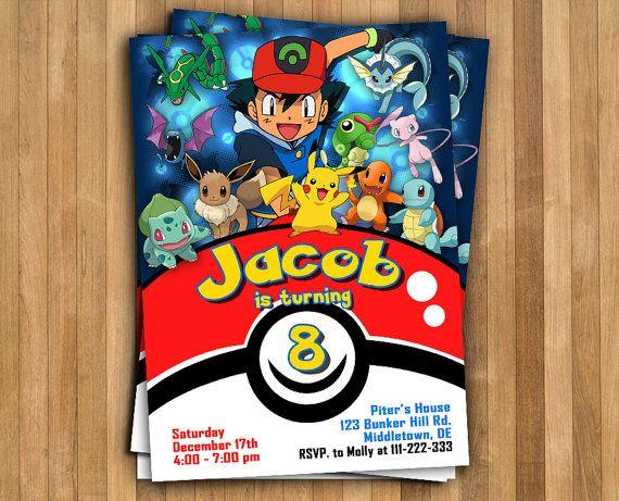 Pokemon Card Invitations as beautiful invitations layout