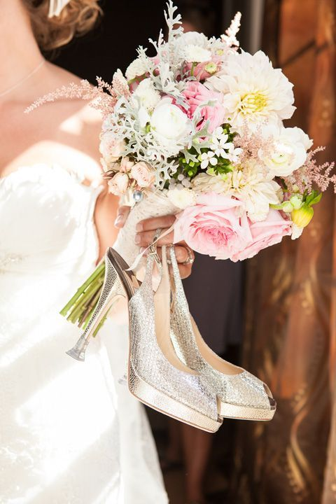 Heel Saviours™ Heel Stoppers protection for you and your heels on your wedding day.