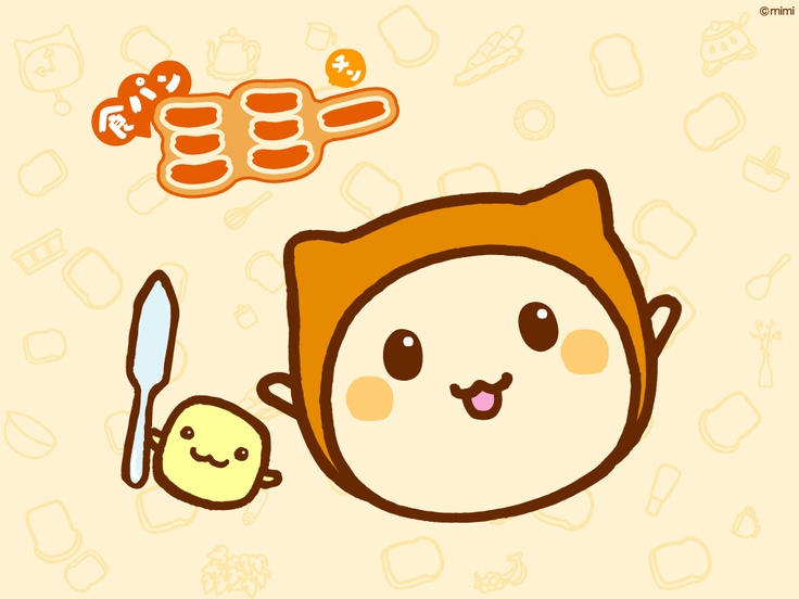 大阪朝日放送 TV局 食パンミミ― #tv #Osaka #Japan #Character  tv Osaka Japan Character