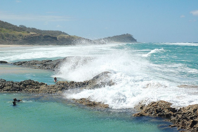 Champagne Pools by ...And the wanderlust sets in..., via Flickr