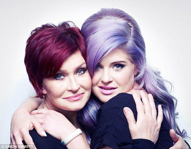 Kelly Osbourne supports her mother Sharon in the 2013 poster campaign for Fashion Targets Breast Cancer