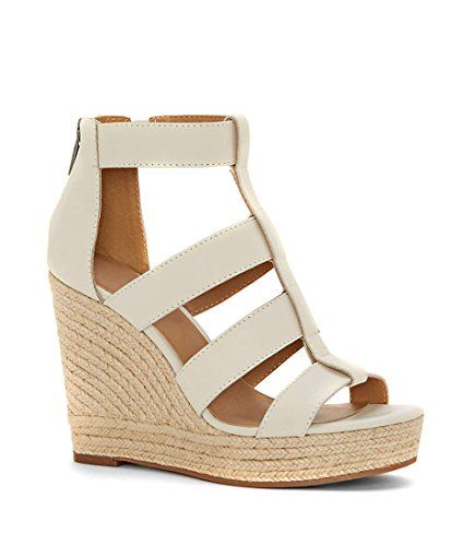 065576b280f Fashare Womens Peep Toe Platform Wedge Sandals Espadrille... https   www