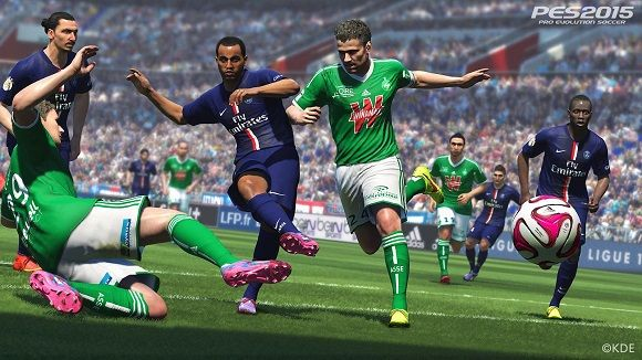 Pro Evolution Soccer 2015 / Winning Eleven 2015 is a soccer (Sport) games made and published by Konami Digital Entertainment in November 2014 for the PC, PS3, PS4 and Xbox One