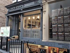 Hendersons Of Edinburgh | Vegetarian Restaurant Edinburgh Scotland UK.