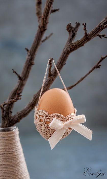 Kitchen drama: Easter Egg Crochet