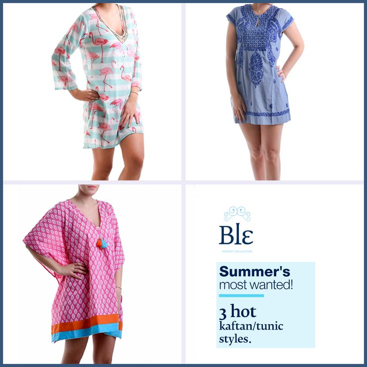 Looking for a multitasking kaftan or tunic for summer? Discover the season's 3 hot trends to be your most stylish self! Discover our picks here  www.ble-shop.com/blog/