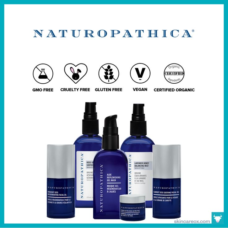 Naturopathica Organic Skin Care Line – Skin Care Ox