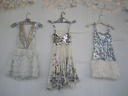 pretty sparkle dresses ! from : http://sourcherryxo.tumblr.com/post/2092239336