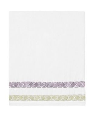 59% OFF Designers Guild Alcazar Damson Flat Sheet (White)