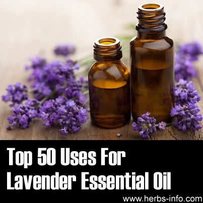 ❤ Top 50 Uses For Lavender Essential Oil ❤