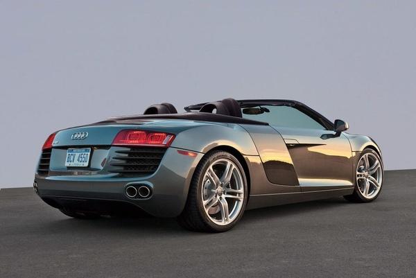 Audi R8 Spyder V10---You are sexy.