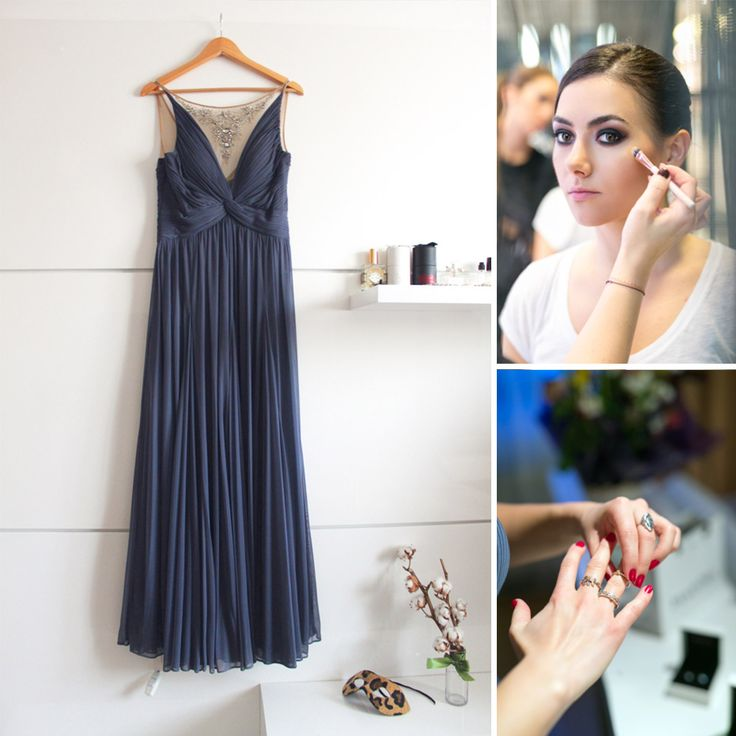 Ioana Voicu, fashion blogger la Mauvert, a fost Cinderella pentru o zi la Balul Vienez in aceasta rochie de gala Adrianna Papell.  www.dressbox.ro/rochii/adrianna-papell-ap05.html