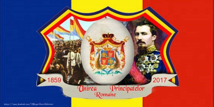 Felicitare: Unirea Principatelor Romane 24 ianuarie