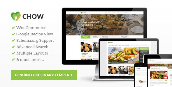 CookingPress is a WordPress theme for foodies. This recipe theme will let you share all your recipes and cooking tips with wide audience. It's one of the first WordPress recipe themes with support for Google Recipe View. What does it mean? it means that your blog will be understand not only by people, but also by search engines.  #food #blog #design #inspiration