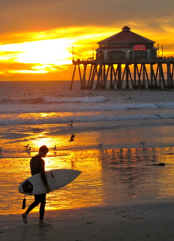 Best Place To Watch Sunset In Huntington Beach