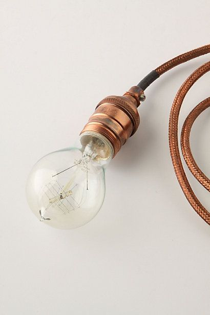 nice as is, but I love the copper braided wire. can also imagine hiding cords for devices inside the thin copper high-pressure tubing.