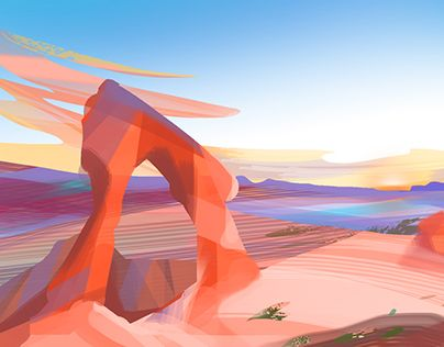 """Check out new work on my @Behance portfolio: """"5 min landscape sketches"""" http://be.net/gallery/58812321/5-min-landscape-sketches"""