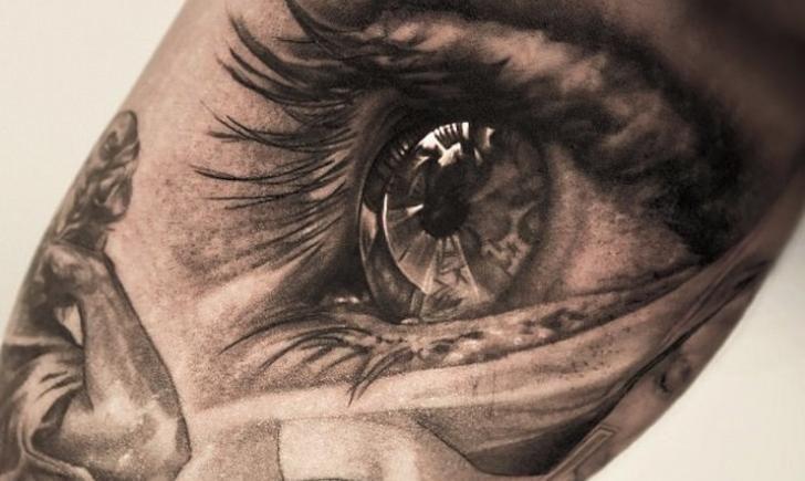 20 Most Realistic Eye Tattoos   Tattoo.com