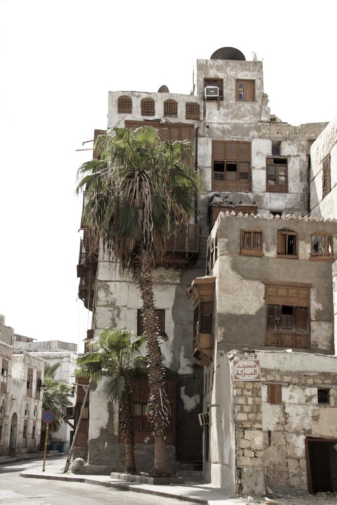 https://flic.kr/p/8KJFiv | Rustic Saudi Building | Old buiding in old Jeddah, Saudi Arabia.