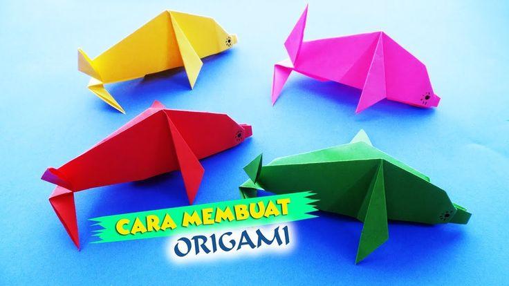 Cara Membuat Origami Ikan | HD Citra Kreativita